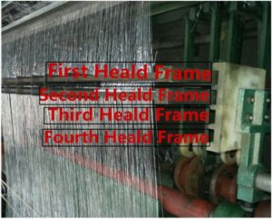 heald frame for dutch