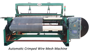 apm crimped wire mesh machine